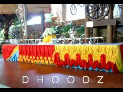 Table Skirting My Latest Designs By Dhoodz Pajita Youtube