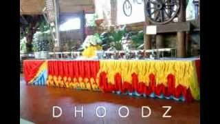 Table Skirting ( My Latest Designs) By Dhoodz Pajita