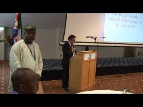 MAN Oron Alumni's I'ntl Maritime Summit (IMS) 2013 Pt 01