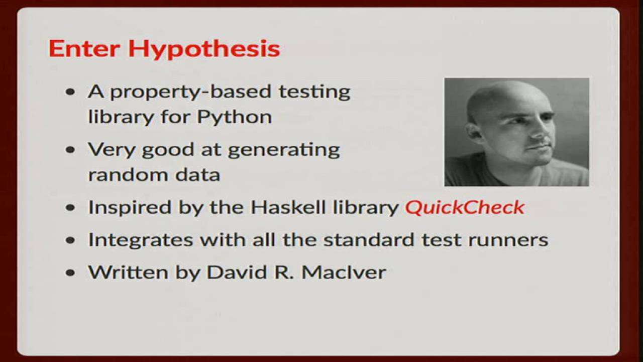 Image from An Introduction to Property Based Testing