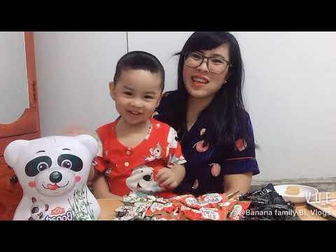 Review KẸO SÂM HQ và cái kết ăn… không hết | Banana family BL Vlogs #29