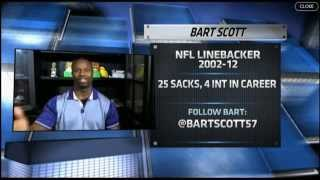 is joe flacco a elite quaterback in the national football league with bart scott