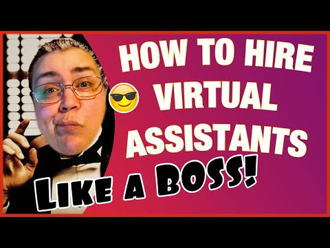 How to Hire Virtual Assistants Like a BOSS! eCommerce, Dropshipping, Amazon, eBay! thumbnail