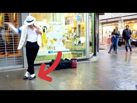 Michael Jackson Imitador callejero -  street dancer