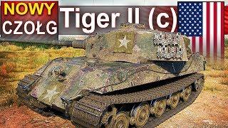 Tiger II (c) - dziewicza bitwa po pół roku przerwy od World of Tanks