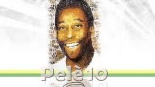 Pele ~  Brazil & Santos, The Worlds Greatest