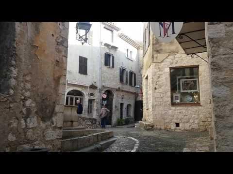 La vidéo du Jour: Tourisme à St Paul de Vence (Février 2017)