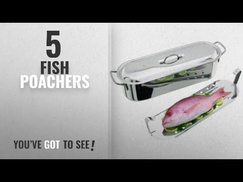 Top 10 Fish Poachers [2018]: Judge Fish Poacher, Silver, 13 Litre, 60 Cm