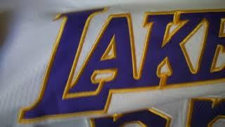 Баскетбольная джерси Nike NBA Los Angeles Lakers №23 Lebron James new collection белая магазин Baske