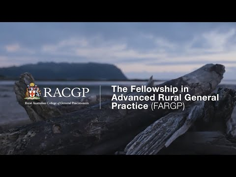 Fellowship In Advanced Rural General Practice (FARGP) – General Practice Registrars