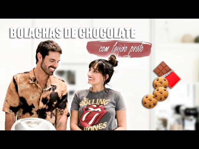 Bolachas de Chocolate - com feijão preto | Dr Hugo Madeira e Tâmara Castelo