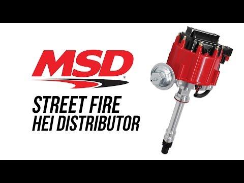 MSD Street Fire HEI Distributor - YouTube