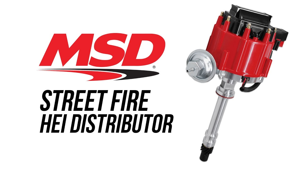 Msd Street Fire Hei Distributor Youtube 8360 Wiring Diagram