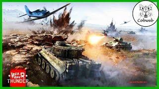 War Thunder Нубик в танке, третий день :-)