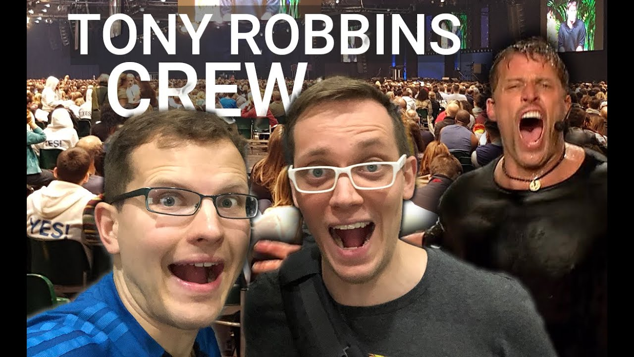 Arbeiten in der CREW von Tony Robbins - So ist es wirklich & wie du es schaffst - Erfahrung deutsch