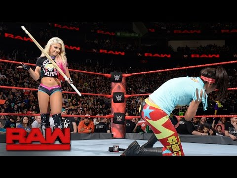 Alexa Bliss unloads on Bayley with a kendo stick: Raw, May 15, 2017
