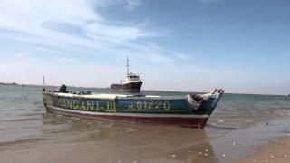 Ocean coast in Angola