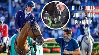 Killer Queen VDM wirft Rolex Pokal um 😱😂 | in der Siegerehrung |Rolex Grand Prix|CHIO Aachen