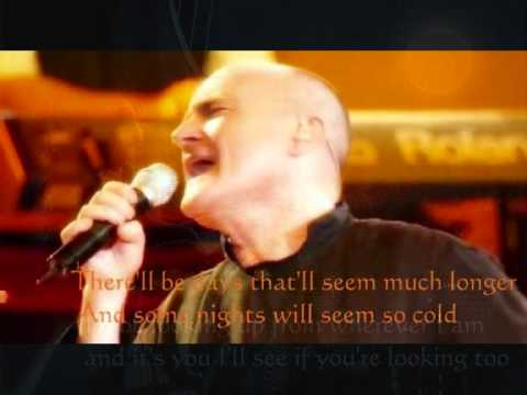 The Same Moon (with Lyrics) - Phil Collins