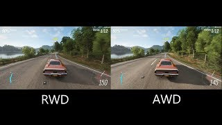 Forza Horizon 4 - Are AWD swaps still overpowered? (RWD vs AWD builds)