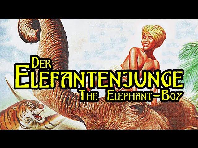 Der Elefantenjunge (Abenteuerfilm Kassiker auf Deutsch, ganzer Familienfilm auf Deutsch)