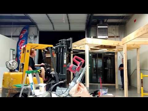 Building A Mezzanine - timelapse