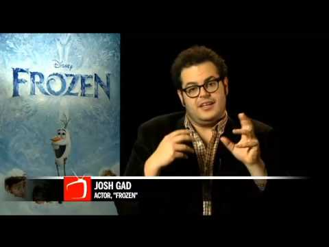 Interview with Frozen Josh Gad