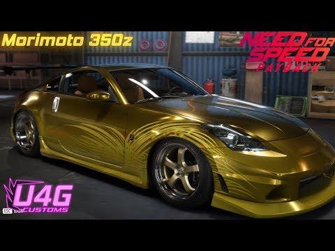 NFS Payback Morimoto's Nissan 350z Customization U4G Customs #25