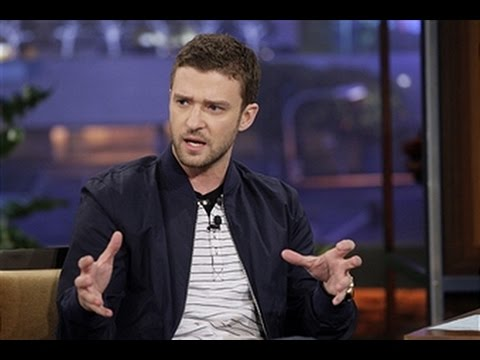 Justin Timberlake Interview On Jay Leno 2011 HQ