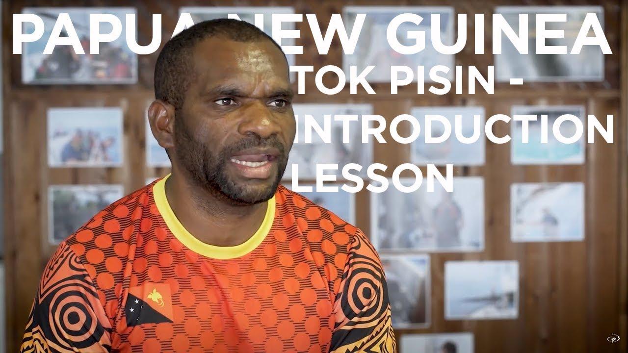 Tok Pisin (Papua New Guinea) - pinterest.com