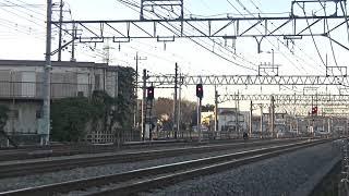 西武鉄道40102F 試運転 南入曽入庫