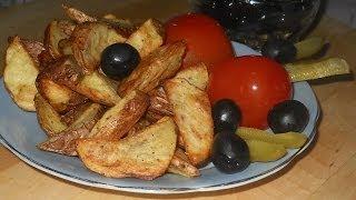 Картофель запеченный в духовке. РЕЦЕПТ