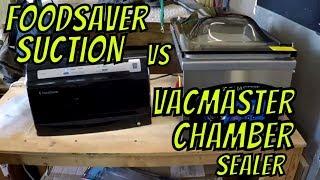 Foodsaver vs Vacmaster Chamber Sealer (2018)