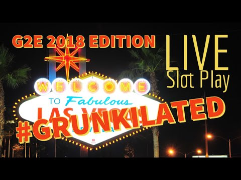 G2E Special Event: GRUNKILATED SLOT PLAY  THE COSMO 🎰 ROBERT & CAROLINE BRING THE LUCK 🌴🌴
