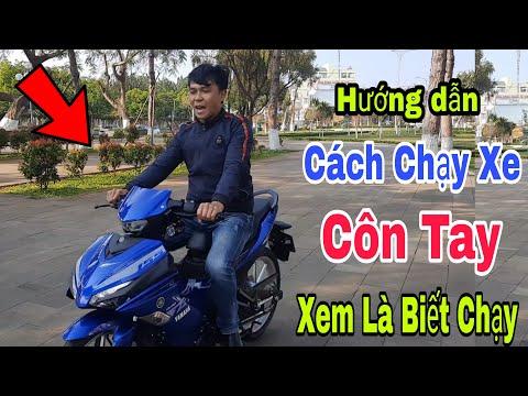 Cách Chạy Xe Côn Tay Exciter 155vva   Hướng dẫn cách chạy xe côn tay cho người mới   Sáu Vlogs