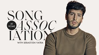 "Sebastián Yatra Sings BiĮlie Eilish, Sam Smith, and ""Adiós"" in a Game of Song Association 
