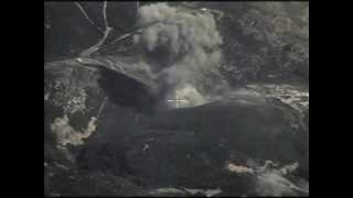 Нанесение удара по командному пункту и складу боеприпасов террористов ИГИЛ