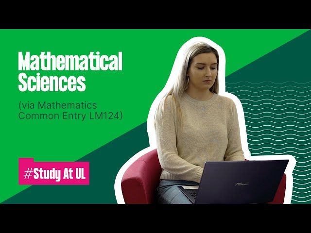 LM124 (Common Entry) - Bachelor of Science in Mathematical Sciences