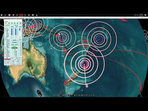 3/18/2019 -- Global Earthquake Update -- New 30,000 foot high Volcanic blast -- Potential larger EQ