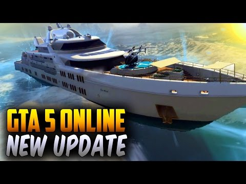 GTA 5 DLC Update New Mansions, Cars, Yachts & More (GTA 5 Executives And Other Criminals Update)
