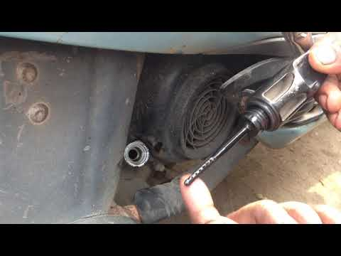 how to check engine oil level in activa