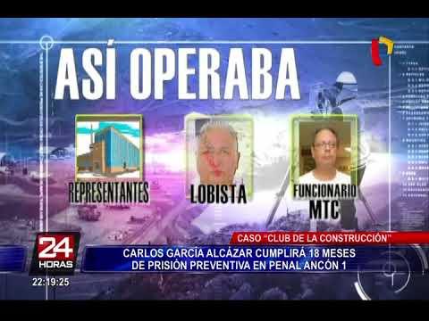 Club de la Construcción: Carlos García Alcázar cumplirá 18 meses de prisión preventiva