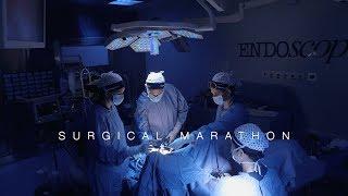 laparoscopic hysterectomy for deep endometriosis.wmv