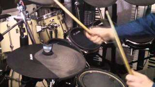 """Toto - The other side """"drum cover"""""""