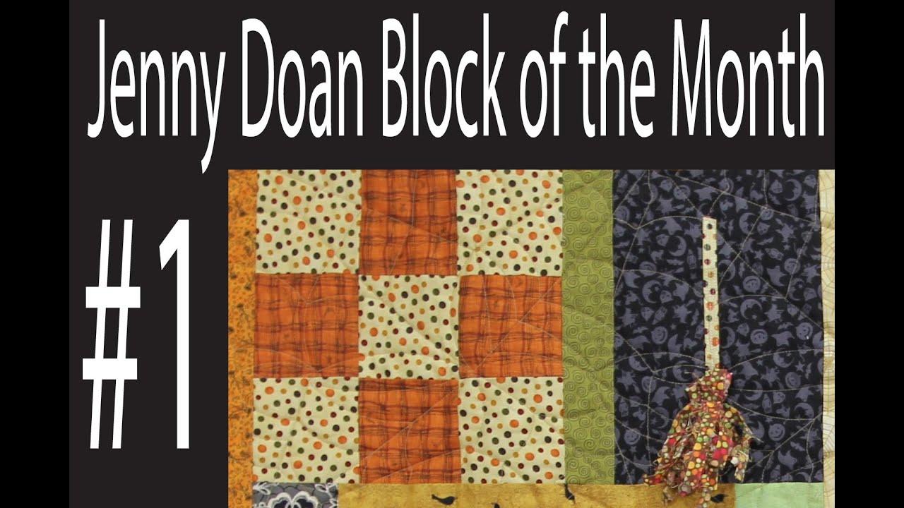 Jenny Doan Block of the Month (BOTM) #1- Missouri Star Quilt ... : missouri quilt company binding tutorial - Adamdwight.com