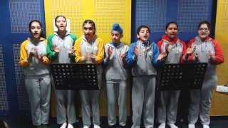 Ratti Teri  Folk song  Ivy wrold school choir.