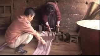 麻布与苗族  Hmoob tseg tsis taug maj&ntuag    hemp weaving and miao people