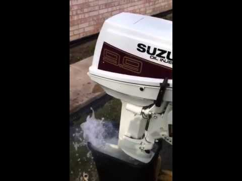 Suzuki Oil Injected Outboard Motor