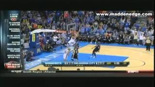 Repeat youtube video Kevin Love Scores 51 points 14 Rebounds & Seven 3 Pointers! Still Falls To OKC & Durant