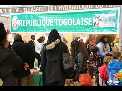 Togo Salon International de l'Agriculture à Paris interview de la délégation présente